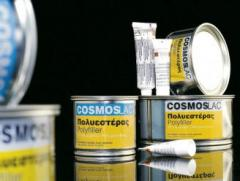 Two component polyester putty