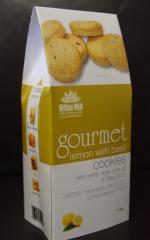 Gourmet coockies LEMON with BASIL (Biscuit)