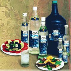 Ουζο Τυρνάβου με άρωμα του γλυκάνισου