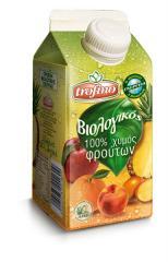 Πολυχυμός 6 φρούτων απο τον ελληνικό παράγωγο