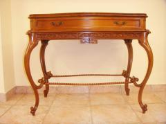 Κονσολα Μαιανδρος από ξύλο ελληνικής καρυδιάς