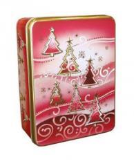 Μεταλλικά Κουτιά για τα δώρα και τα γλυκίσματα των γιορτών.