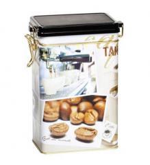 Μεταλλικο κουτι με ερμητικο καπακι Coffee Ο / Μεταλλικά δοχεία για καφέ, τσάι, βότανα