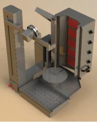 Machines for shawarma