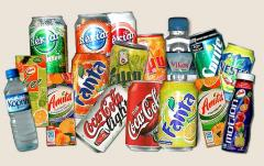 Soft drinks, carbonated