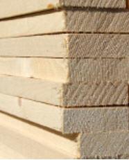Ξριστή ξυλεία ελάτης φυσικώς ξηραμένη από διάφορες
