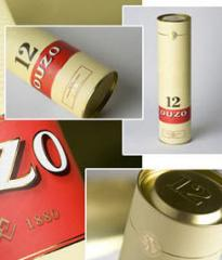 Metal boxes for packing drinks