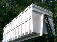 Μεταλλικοί κάδοι τύπου Hook Lift για μεταφορά