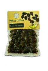 Plum olives from Greece in 200gr vacuum pack