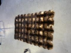 Articles made of natural fur