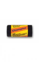 Σακκούλες μαύρες απορριμμάτων Ρολλό (20) χωρίς