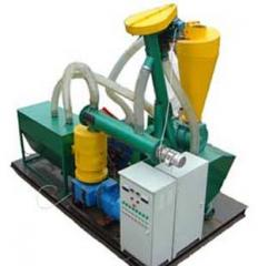 Equipment for the production of biofuels from