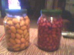 Kalamata olives - blonde olives