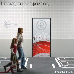 Μεταλλική πόρτα πυρασφάλειας UNIVER