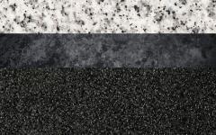 Οι γρανίτες, διακοσμητικά πετρώματα