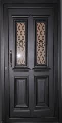 Κεντρικές πόρτες εισόδου Αλουμινίου