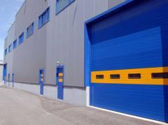 Πολύσπαστη Βιομηχανική Πόρτα με Ελατήρια