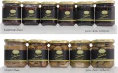 Kalamata and Green Olives