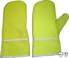 Πυρίμαχο γάντι παλάμης και αντίχειρα, διαθέσιμο σε