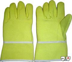 Πυρίμαχο γάντι πέντε δαχτύλων διαθέσιμο σε