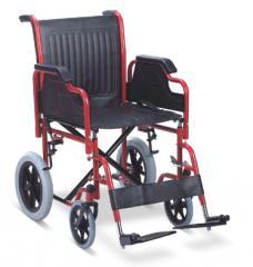 Πτυσσόμενο αναπηρικό αμαξίδιο με μεσαίες πίσω