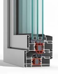 Ανοιγοανακλινόμενα Θερμομονωτικά Συστήματα AL 570