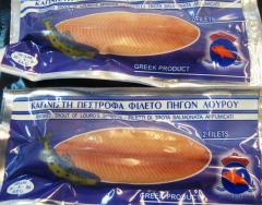 Smoked trout in Vacuum Pack (Smoked fish)