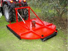Mowing machines for orchards and vineyards