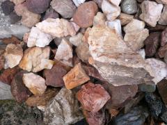 Φυσικό πέτρωμα χαλαζία η Ίασπις η Όνυχα, Quartz