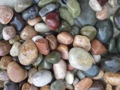 Pebbles and polished pebbles