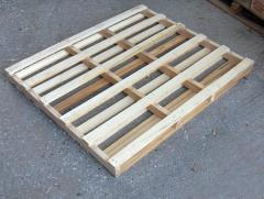 Pallets, second grade