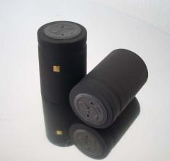 Καψύλλια PVC 32,3x50mm Μαύρα Velvet