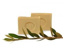 Soap from olive oil