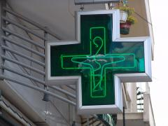 Signboards light bilateral