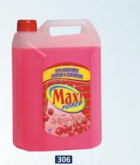 Floor liquid cleaner 4 lt (cherry) №306