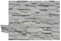 Stone panel silver