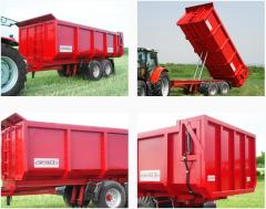 Agricultural machines and the equipment different