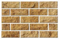 Πλακίδια πέτρας από ψαμμίτη σε στάνταρ διαστάσεις