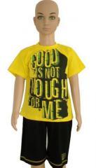 Boys Clothing 100% cotton  (shorts, T-shirts)  №
