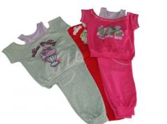 Sports apparel for girls 95% cotton,5% lucra №2520