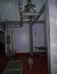 Pig dehiding machine