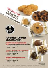 Gourme Cookies Συσκευασμένα