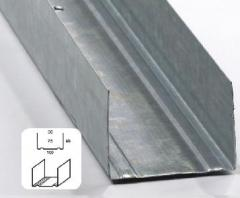 Profile Drywall Support Sleeper 40x 50, 75