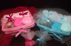 Clothes and accessories for babies christening