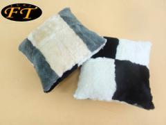 Doubleface sheepskin pillows