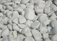 Λευκά Βότσαλα Θάσου και Λευκή Μαρμαρόπετρα