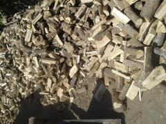 Freshly sawn wood