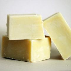 Olive oil soap with goat milk