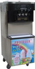 Παγωτομηχανή 2 γεύσεων με αντλία διόγκωσης