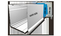 Επικαθήμενο κουτί αλουμινίου 320Χ320 mm  για